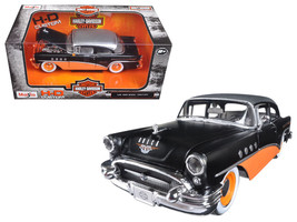 1955 Buick Century Harley Davidson Black / Orange 1/26 Diecast Model Car... - $36.28