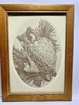 Vintage CURRENT Paper Stationery ~ WOODLAND COLLECTION  Framed Owl - $18.22
