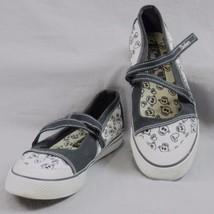 Skechers California Schädel und Herz Sneakers 6.5 Klett Band Schuhe Hall... - $20.87