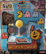 "Ms Pac-Man 5 Arcade Classics - ""Game Key Ready"" JAKKS Pacific  - $117.55"