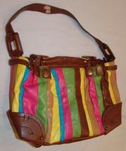 Jessica Simpson Multi-Color Purse Handbag Shoulder Bag - $22.06