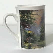 "Stillwater Cottage Thomas Kinkade 2005 Coffee Cup Mug 4"" Tall  - $19.80"