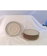 NORITAKE STONEWARE AUTUMN DAY 8353 Saucer Set of 6 Lovely - $14.54