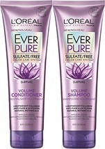 L'Oreal Paris EverPure Sulfate-Free Color Care System Volume Shampoo & Condition - $18.65