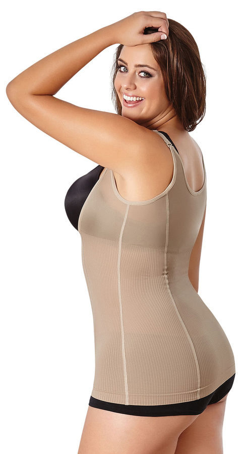 31b2c1f946e Cocoon Plus Size Body Slimming Underbust Shaper Top to Size 5X ~ Black or  Beige