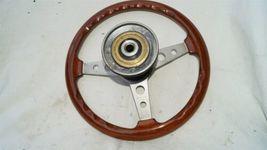 1977 Mercedes W123 R107 W107 Grant Wood Steering + Hub image 8