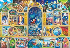 Tenyo Jigsaw Puzzle Disney All Character Dream Japan 1000 Piece - $88.08