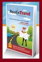 Needle Travel Guide Fiber & Fabric Mania cross stitch travel book  - $10.00
