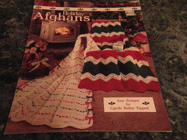 Holiday Afghans Leaflet 917 Crochet Leisure Arts - $2.99