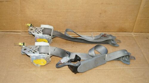 05-11 Toyota Tacoma Front Seat Belt Belts Set L&R GRAY