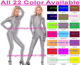 Sexy Body Suit New 23 Color Lycra Spandex Catsuit Costumes Unisex No Hea... - $32.99