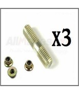 Land Rover Discovery Range Rover Defender 25mm Stud & Flanged Nuts Set x... - $7.00