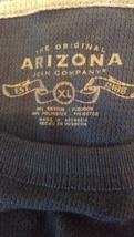 Boys Arizona LS blue thermal shirt sz XL sec372 - $14.90