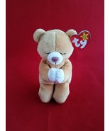 Ty Beanie Baby Hope the Praying Bear New 1998 - $2.96