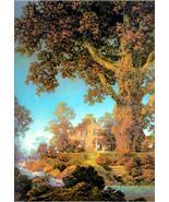 Morning Light, Maxfield Parrish, Fall Landscape, 1920s fantasy art, land... - $23.99