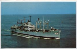 USS Fremont APA-44 Fleet Post Office US Navy Ship postcard - $6.44