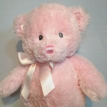 Baby Gund My First Pink Girls Teddy Bear Stuffed Plush Animal Sewn Eyes ... - $18.00