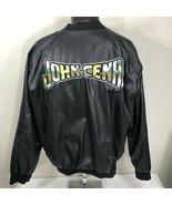 Vintage WWE Jacket John Cena Wrestling Polyester Steve & Barrys Large WWF - $49.99