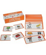 Ending Sounds Matching Puzzles (60 Pack)   Educational - Teaching Aids - $14.24