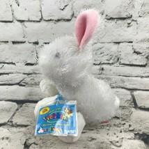 Ganz Webkinz Lil'Kinz Rabbit Plush White Shaggy Stuffed Animal Soft Toy ... - $7.91