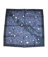 Hermes Scarf La Voie Lactee Wlodek Kaminski Milky Way Silk 90 cm Astronomy - $513.81