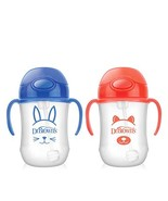 Dr. Brown's Baby's First Straw Cup, Cute Critters Blue/Orange, 9 ounce, ... - $31.07