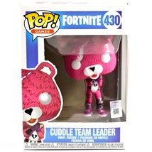 Funko Pop! Games Fortnite Cuddle Team Leader #430 Vinyl Action Figure NIB