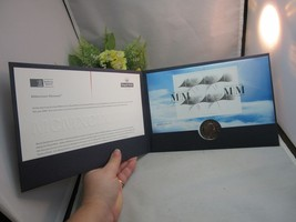 2000 Millennium Moment Coin Cover.Stamps and coin.Royal Mail MINT - £10.66 GBP