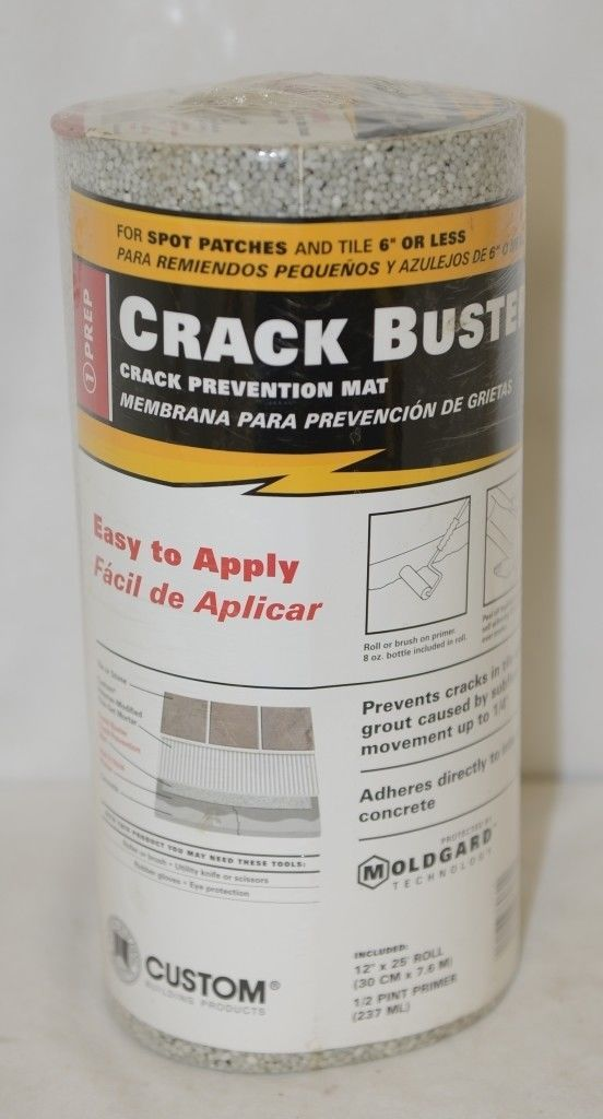 Custom Building Products 55487306R Crack Prevention Mat Half Pint Primer