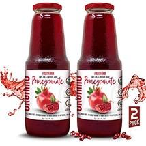 Fruitforia Organic Cold Pressed Pomegranate Juice, No Added Water or Sugar, Kosh