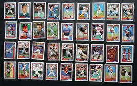 1992 Topps Micro Mini Atlanta Braves Team Set of 36 Baseball Cards - $12.99