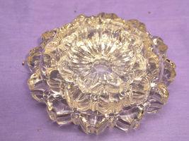 Vintage Nesting Hazel Atlas Clear Glass Ashtray - 1 Medium Sized Ashtray Only - $5.99