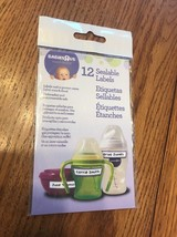 Babies R Us Expect The Best 12 Sealable Labels Ships N 24h - $4.95