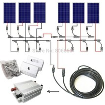USA Stock COMPLETE KIT 600W Solar Panel Cells Off Grid System, 600w sola... - $1,004.40+