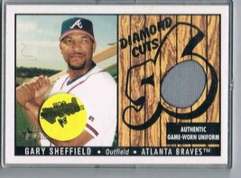2003 Bowman Heritage Diamond Cuts Relics #GS Gary Sheffield Uniform NM-MT MEM  - $39.55