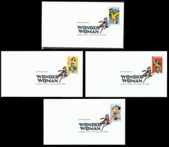 US 5149-5152 Wonder Woman (set of 4) DCP FDC 2016 image 1
