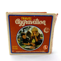 Travel Aggravation Board Game Vintage 1980 Complete Original Lakeside 8317 - $12.90