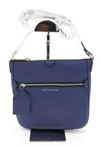 NWT Marc by Marc Jacobs Blue Leather Globetrotter Kit Calley Crossbody B... - $198.00