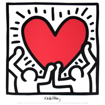 Keith Haring-Untitled (1988)-Poster - $14.03