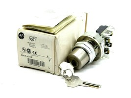 NEW ALLEN BRADLEY 800T-H31A SELECTOR SWITCH 800TH31A - $95.00