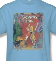 Dragons Lair t-shirt Dirk & Princess Daphne 80's retro arcade graphic tee DRL106 image 2