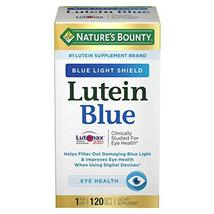 Nature's Bounty Lutein Blue Softgels for Eye Health, 120 ct. - $39.99