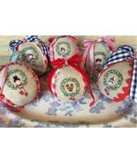 Boules de Noel christmas cross stitch chart Lilli Violette - $12.60