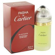 PASHA DE Cartier by Cartier Eau De Toilette  1.6 oz, Men - $41.07