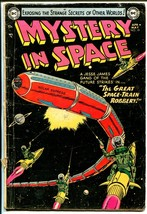 Mystery In Space #19 1954-DC-Virgil Finlay-Gil Kane-G - $55.87