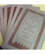 6 Copies of Well Known Hymns for Men's Voices Frederick Wick 1922 - $0.99