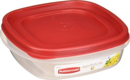 Rubbermaid 608866902584 Easy Find Lids Square 3-Cup Food of - $27.70