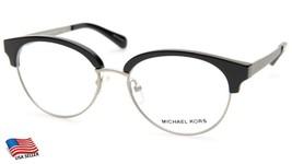 New Michael Kors MK3013 Anouk 1142 Black Eyeglasses Frame 52-17-135mm - $44.54