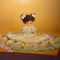 Elizabeth Bed Doll Pattern Sweet Dreams Dumplin Design Crochet 1987 BD51... - $9.99