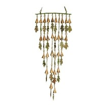 Ancient Graffiti Small Verdigris and Copper Shimmering Bells Leaves - $35.57